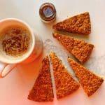کیک کدو حلوایی فیتنسی مهتاب