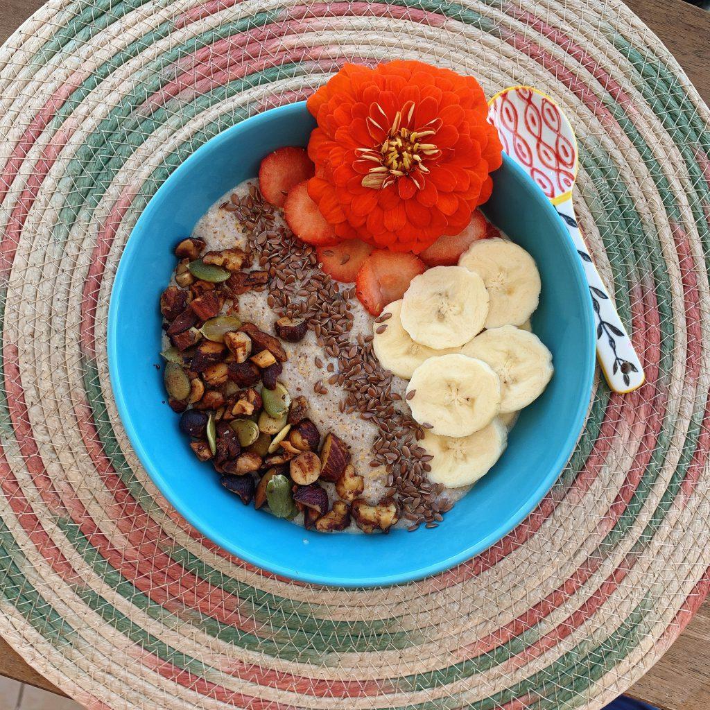 طرز تهیه صبحانه با بذر کتان