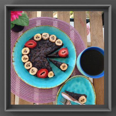 رسپی کیک شکلاتی فیتنسی
