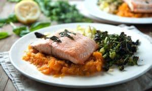 پخت ماهی در تابه