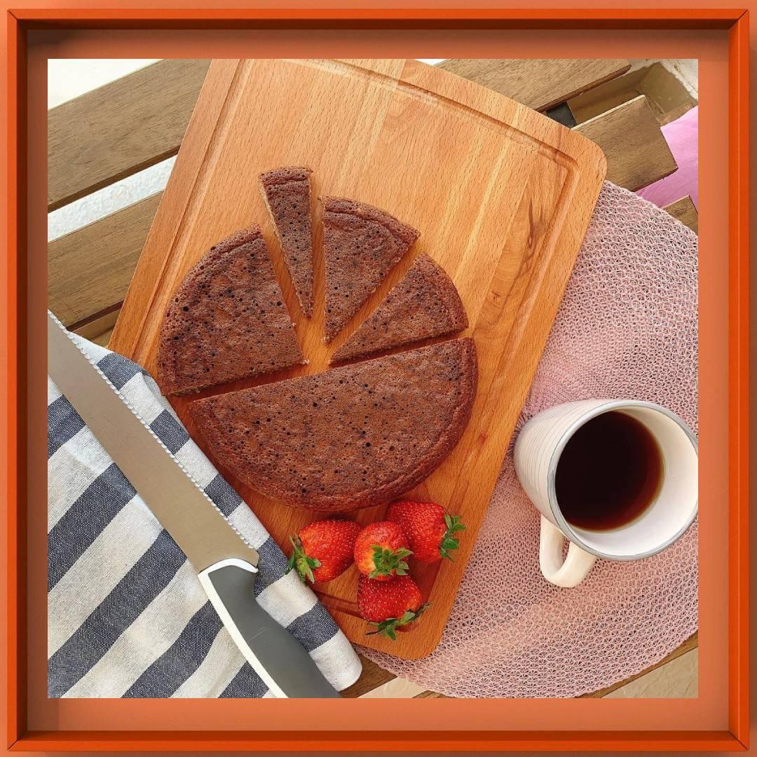 کیک بادام پروتئینی